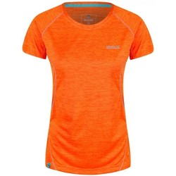 Clothing Women T-shirts & Polo shirts Regatta Women's Deserta Moisture Wicking T-Shirt Orange
