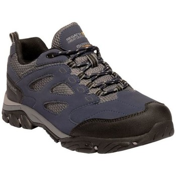 Shoes Men Multisport shoes Regatta HOLCOMBE IEP Low Walking Boots Navy Granite Blue Blue