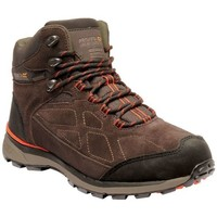 Shoes Men Mid boots Regatta Samaris Suede Waterproof Walking Boots Brown Brown