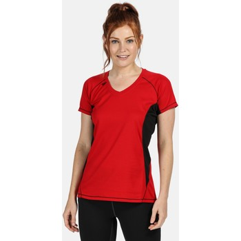 Clothing Women Short-sleeved t-shirts Professional BEIJING Lightweight TShirt Red
