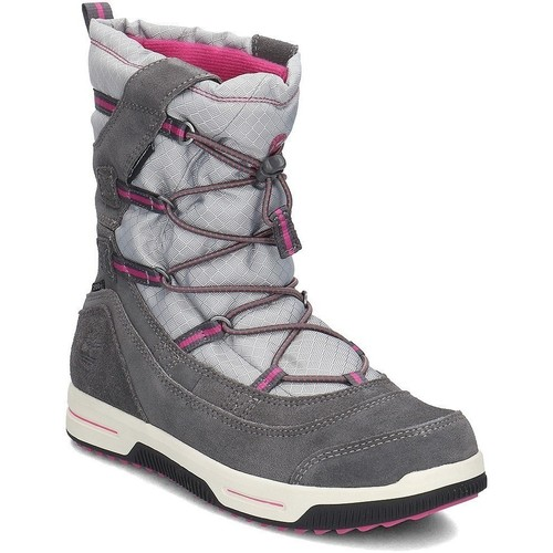 Shoes Children Snow boots Timberland Snow Stomper Pull ON WP Grey