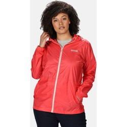 Clothing Women coats Regatta Pack-It III Lightweight Waterproof Walking Jacket Pink Pink