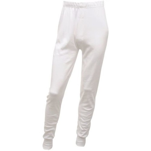 Clothing Men Cargo trousers Professional THERMAL Longjohns Base Layer Blue White White