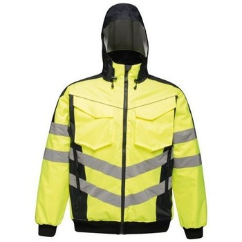 Clothing Men Jackets Professional Hi-Vis Waterproof Insulated Reflective Work Jacket Yellow Yellow