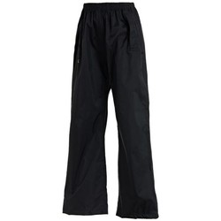 Clothing Children Trousers Regatta Pack It Overtrousers Black Black
