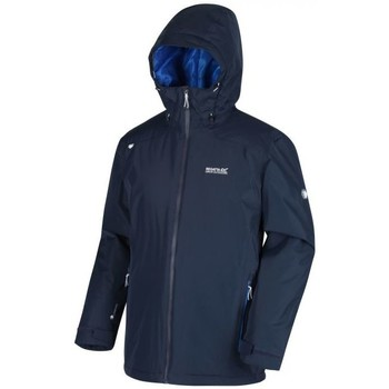 Clothing Men Coats Regatta Thornridge II Waterproof Insulated Walking Jacket Blue Blue