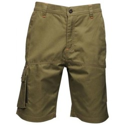 Clothing Men Shorts / Bermudas Professional HEROIC Durable Cargo Shorts Dark Khaki Green Green