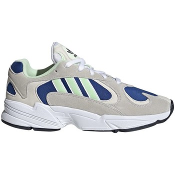 Shoes Men Low top trainers adidas Originals YUNG1 Blue,Beige