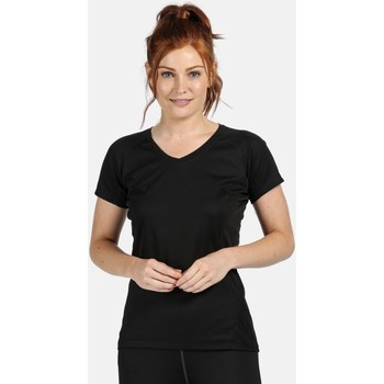Clothing Women Short-sleeved t-shirts Professional Beijing Lightweight Cool and Dry T-Shirt Black Black