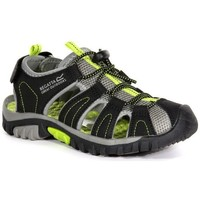 Shoes Boy Sandals Regatta WESTSHORE JUNIOR Sandals Black Lime Green Black Black