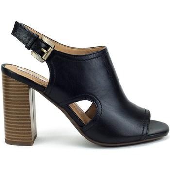 Shoes Women Sandals Geox Audalies High Black