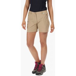 Clothing Women Shorts / Bermudas Regatta HIGHTON Mid Shorts Brown