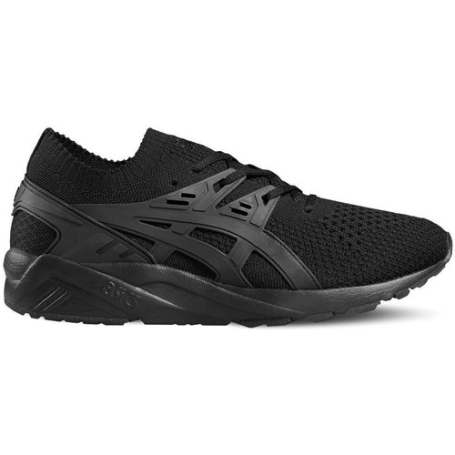 Shoes Men Low top trainers Asics Gelkayano Trainer Knit Black
