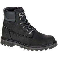 Shoes Men Hi top trainers Caterpillar Cat Deplete WP Watwerproof Black