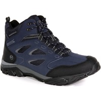 Shoes Men Walking shoes Regatta HOLCOMBE IEP Mid Walking Boots Navy Granite Blue Blue