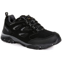 Shoes Men Multisport shoes Regatta Holcombe IEP Waterproof Walking Shoes Black Black