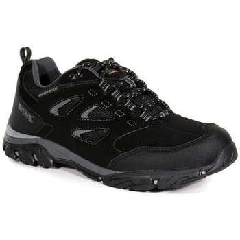 Shoes Men Multisport shoes Regatta Holcombe IEP Low Walking Shoes Black Black