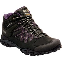 Shoes Women Walking shoes Regatta LADY EDGEPOINT Boots Ash Granite Black Black