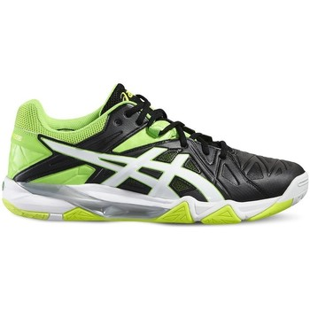 Shoes Men Multisport shoes Asics Gelsensei 6 White, Black, Celadon