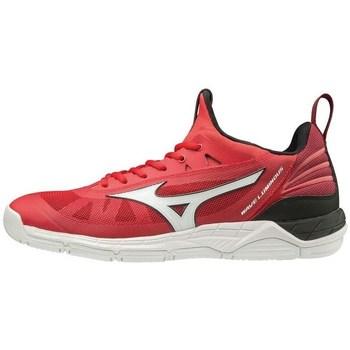 Shoes Men Multisport shoes Mizuno Wave Luminous White, Red