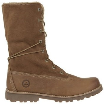 Shoes Women High boots Timberland 6 IN Shearling Brown