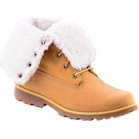 Shoes Women Hi top trainers Timberland 6 IN WP Shearling BO Honey