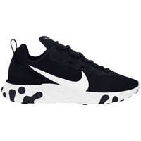 Shoes Men Low top trainers Nike React  55 Black