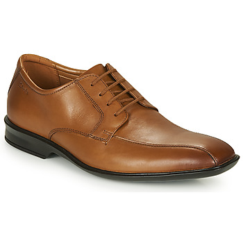 Shoes Men Derby Shoes Clarks BENSLEY RUN Brown