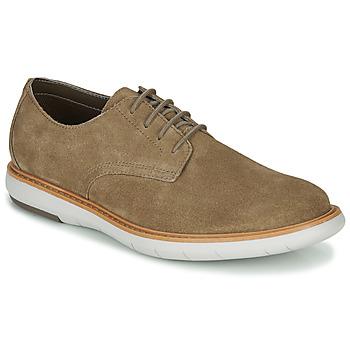 Shoes Men Derby Shoes Clarks DRAPER LACE Beige
