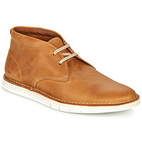 Shoes Men Mid boots Clarks FORGE STRIDE Brown