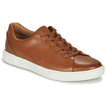 Shoes Men Derby Shoes Clarks UN COSTA LACE Tan