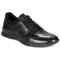 Shoes Men Low top trainers Clarks UN TYNAMO FLOW Black