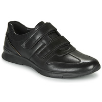 Shoes Men Low top trainers Clarks UN TYNAMO TURN Black