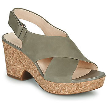 Shoes Women Sandals Clarks MARITSA LARA Taupe