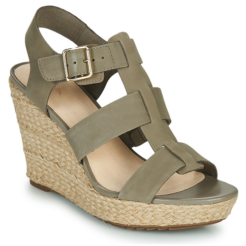 Shoes Women Sandals Clarks MARITSA95 GLAD Kaki