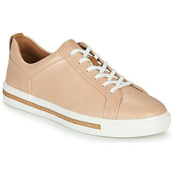 Shoes Women Low top trainers Clarks UN MAUI LACE Pink