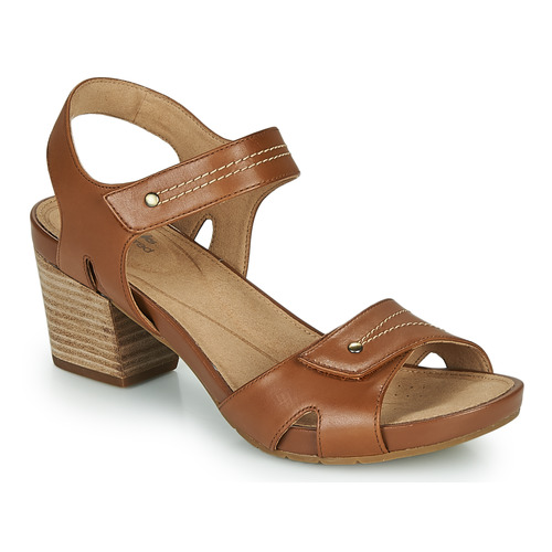 Shoes Women Sandals Clarks UN PALMA VIBE Camel