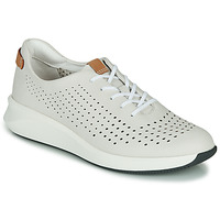 Shoes Women Low top trainers Clarks UN RIO TIE White