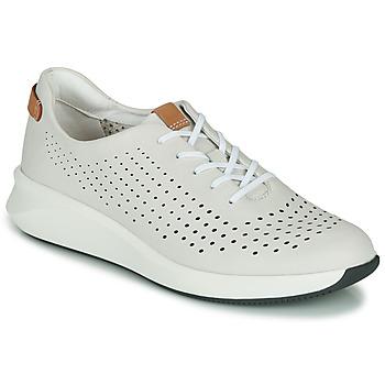 Shoes Women Low top trainers Clarks UN RIO TIE White