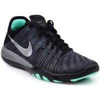 Shoes Women Derby Shoes & Brogues Nike Wmns Free TR 6 Mtlc Black