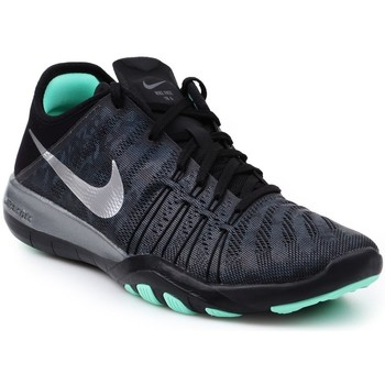 Shoes Women Derby Shoes & Brogues Nike Wmns Free TR 6 Mtlc Black