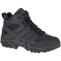 Shoes Men Derby Shoes & Brogues Merrell Moab 2 Mid Tactical Waterproof Black