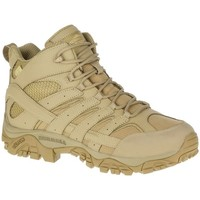 Shoes Men Derby Shoes & Brogues Merrell Moab 2 Mid Tactical Waterproof Beige