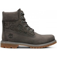 Shoes Women Hi top trainers Timberland 6IN Premium Boot W Grey, Brown