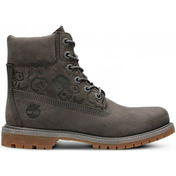 Shoes Women Hi top trainers Timberland 6IN Premium Boot W Grey