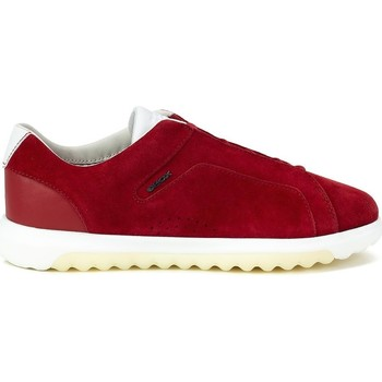 Shoes Men Low top trainers Geox Nexside Red