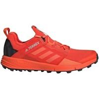 Shoes Men Low top trainers adidas Originals Terrex Speed LD Orange