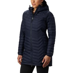 Clothing Women Jackets Columbia Powder Lite Mid Navy blue