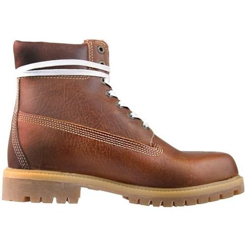 Shoes Men Hi top trainers Timberland Premium 6 Brown