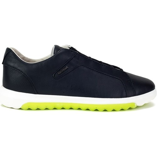 Shoes Men Low top trainers Geox Nexside Yellow, Navy blue